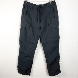 🌿 The North Face Gray Men's Pants Shorts Combo